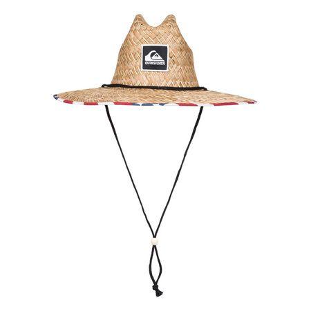 46ecaf9e182ce Quiksilver Outsider Straw Hat - Merican Stripe Traje De Neopreno
