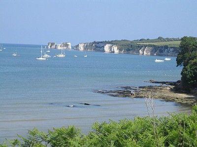Old Harry Rocks From Studland Bay 1972 Dorset Beaches Dorset England Uk Beaches