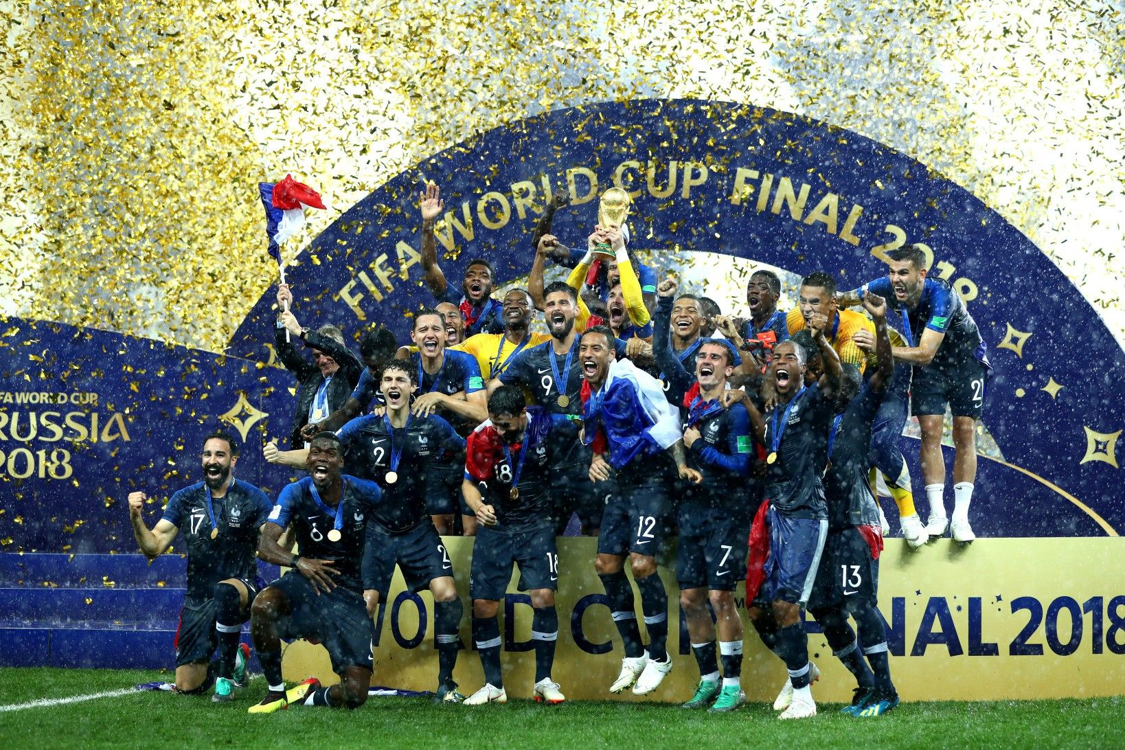 newest innovative design new appearance FIFA World Cup Final Russia 2018 Champion is France ...