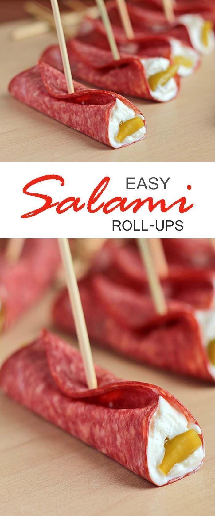 Easy Salami Roll Ups   Sugar Apron - Part 2