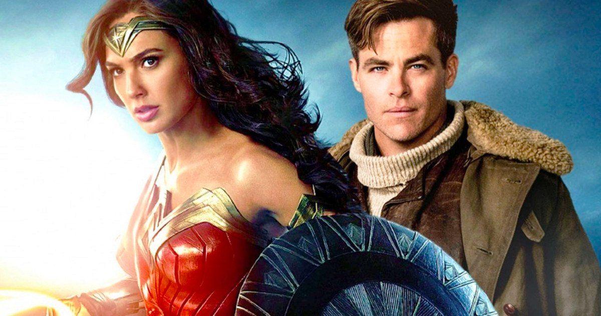 Chris Pine Arrives On Wonder Woman 2 Set Wonder Woman Chris Pine 2 Set