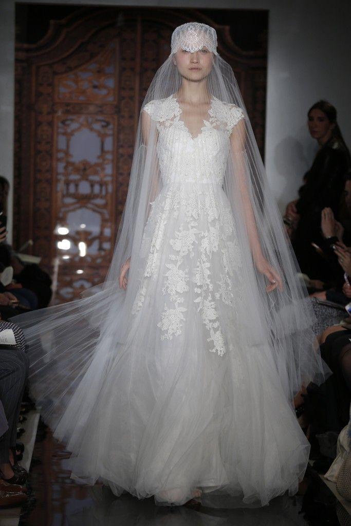 Reem Acra Bridal Fall 2013 | Reem acra bridal, Wedding dress and Wedding