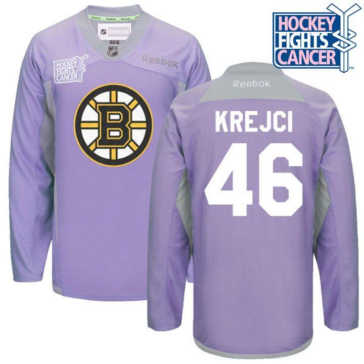 515c7d424 ... Authentic Framed 15 Hockey Fights Cancer Bruins David Krejci Jersey ...