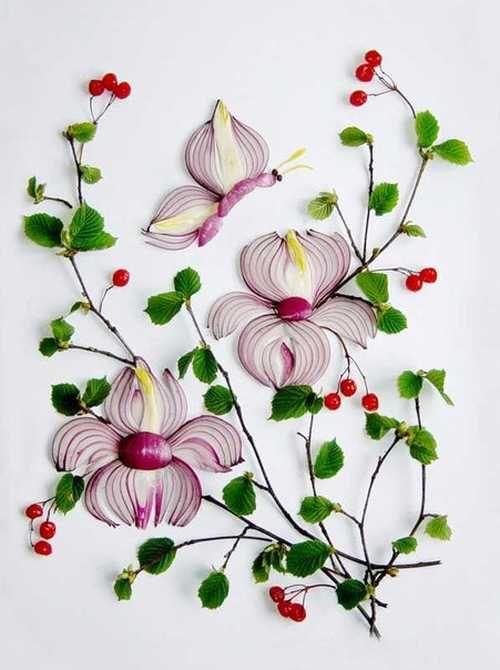 Skvostné cibuľové kvety