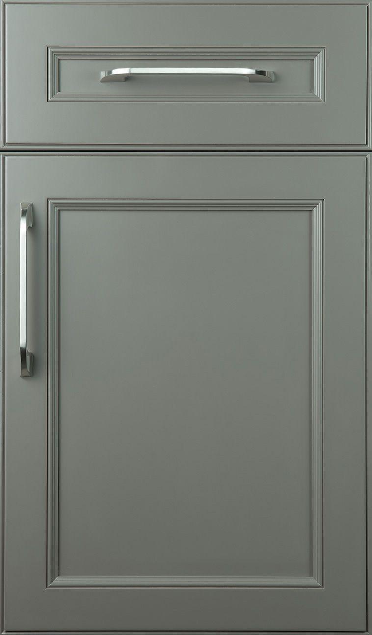 Bayshore door style on Maple with Graystone finish   Door Diary ...