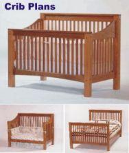 Baby Convertible Crib Plans Shaker Design
