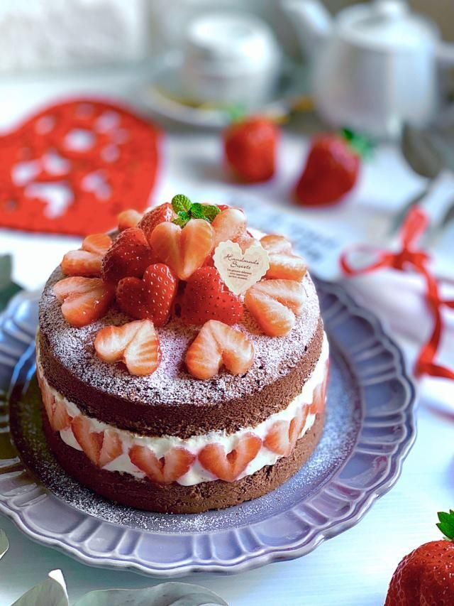 バレンタイン チーズ ケーキ Decoration Cake - パティスリーバレンタイン