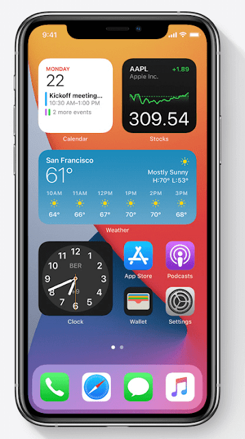 Ios 14 Whats New Cool And Great For Travel Homescreen Iphone Apple Update Apple Ios