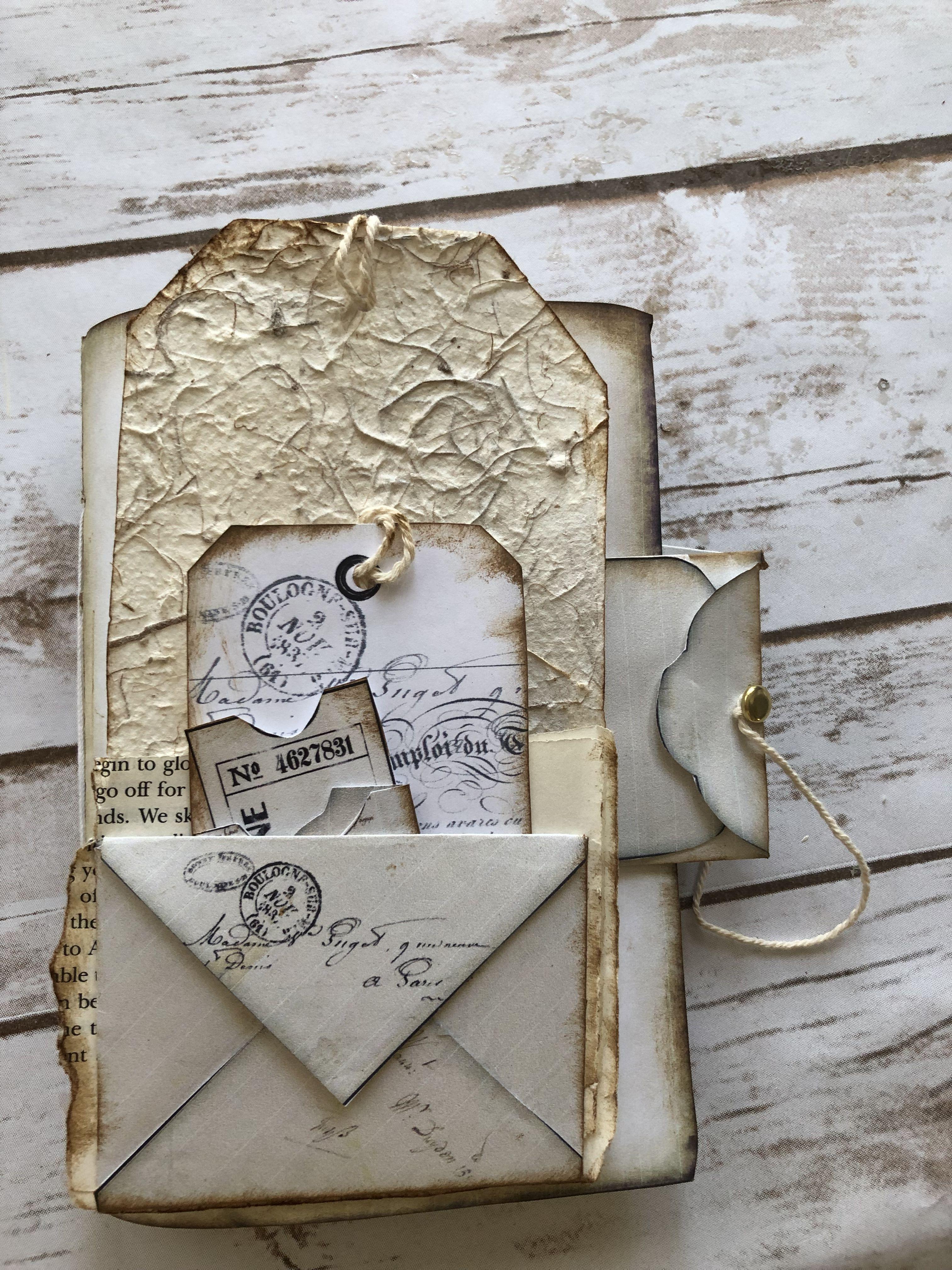 40 Off Easter Sale 2019 Ends 4 27 19 Vintage Junk Journal Handmade Journals Junk Journal