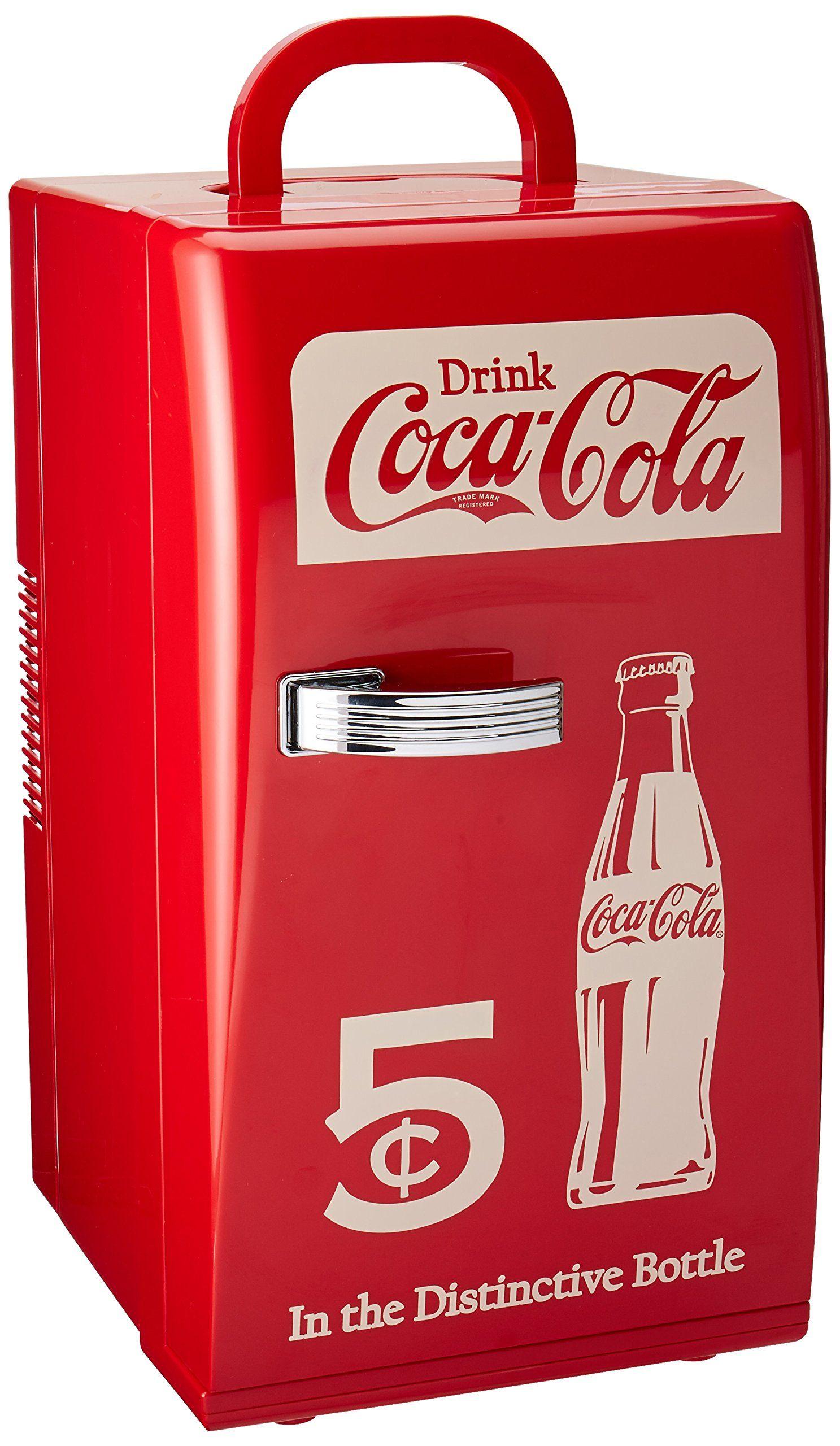 Buy Coca Cola CCR-12 Retro Fridge, Red - Topvintagestyle.com ✓ FREE ...