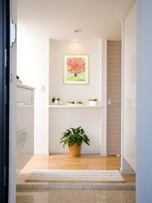 楽天市場 絵画 プレゼント Happy Visionの玄関 リビングに飾る絵画