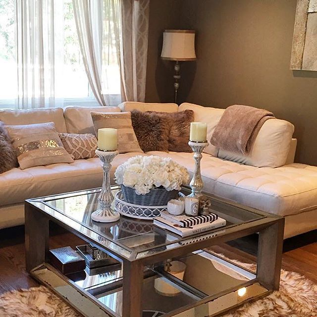Family Rooms We Love: #ZGallerieMoment: We Love How Our Pascual Coffee Table