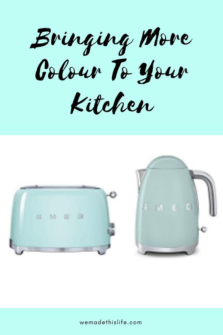 Bringing More Colour To Your Kitchen | Kitchens, Kitchen essentials ...