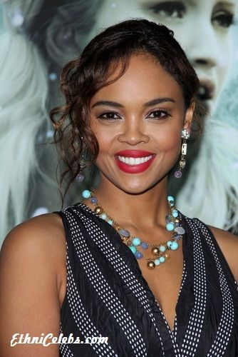 Sharon Leal - an actress and singer, gets her multicultural beauty