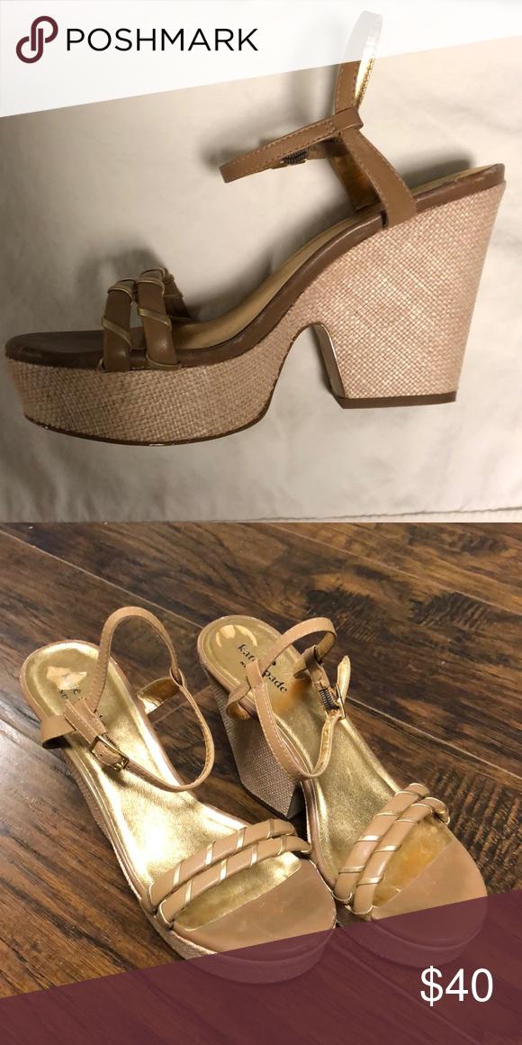 Platform heels, Kate spade shoes