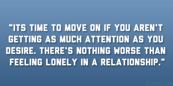Quotes about loneliness in relationships