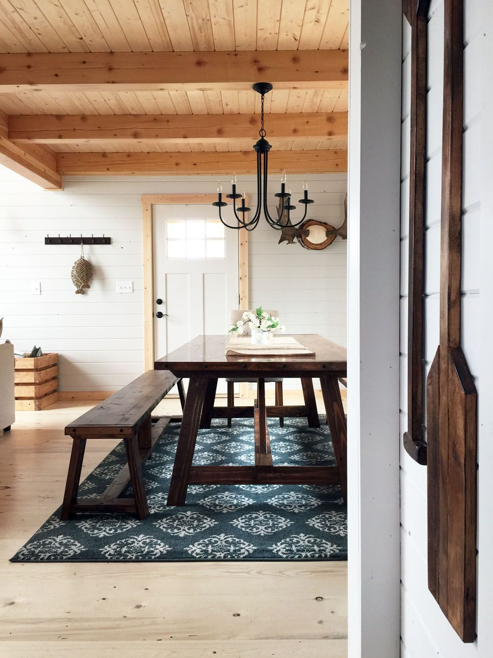 lake cabin furniture. 2x4 Truss Table For Alaska Lake Cabin Furniture