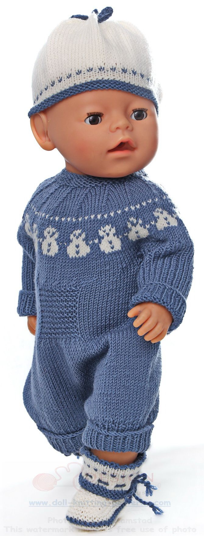 Welcome to Maalfrid Gausel doll knitting patterns store - the most ...