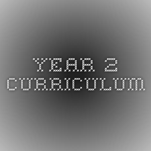 Year 2 Curriculum