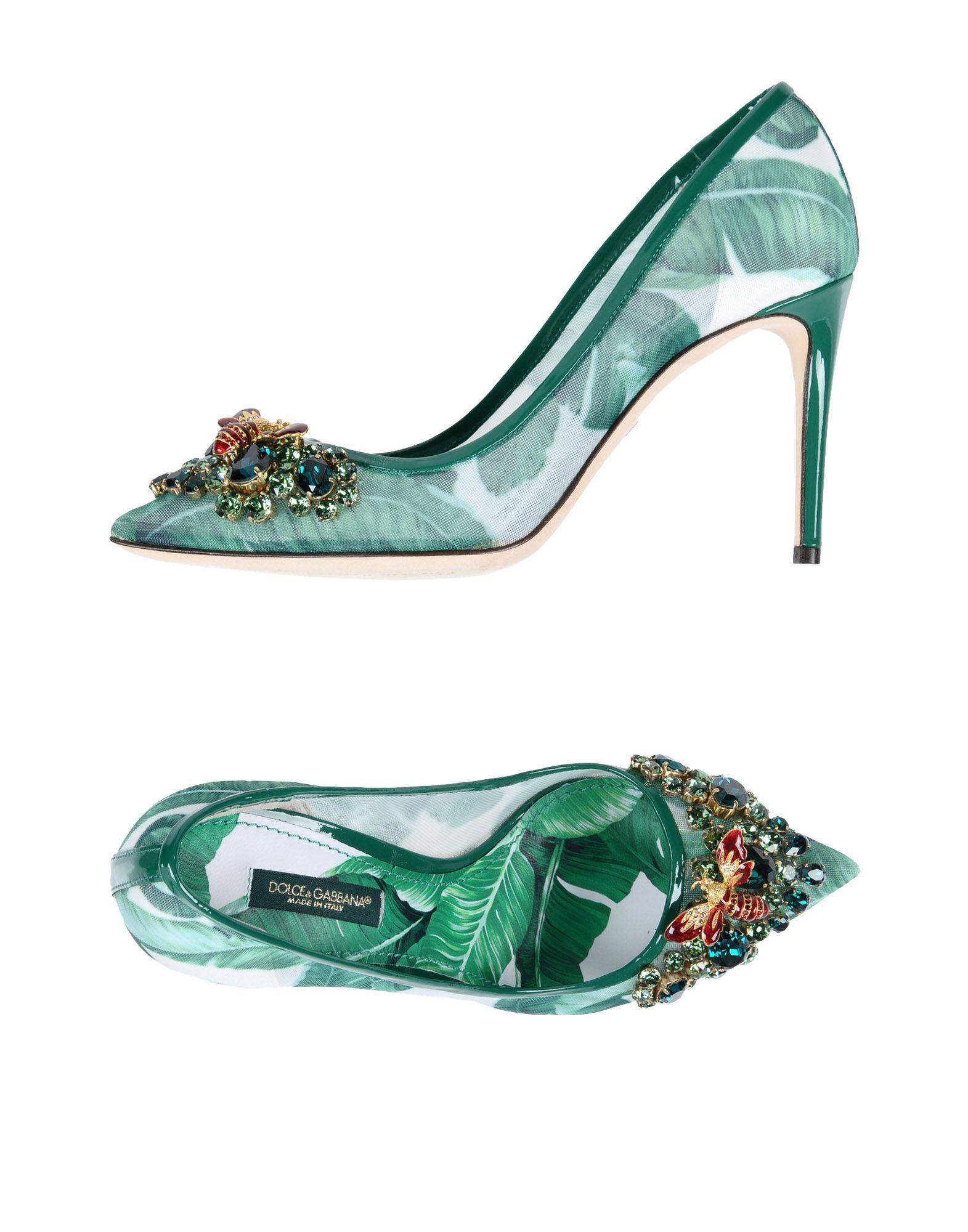 abaa0c4e63d74e Dolce   Gabbana Pump - Women Dolce   Gabbana Pumps online on YOOX United  States - 11512308JD