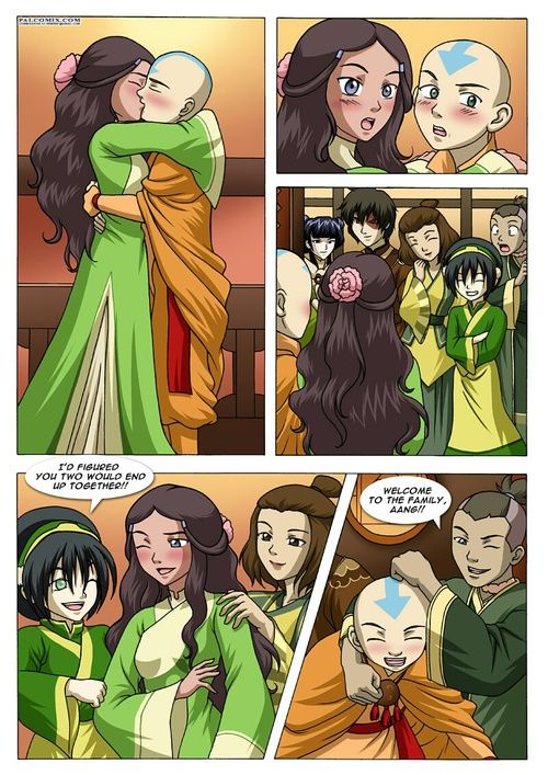 Avatar der letzte Airbender Sex-Cartoon