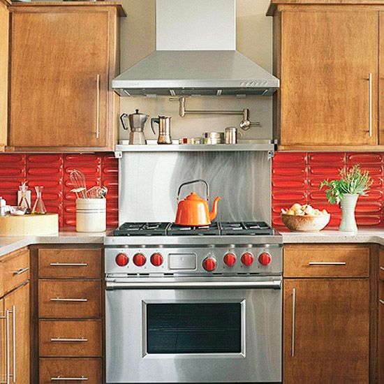 Kitchen Backsplash Same As Countertop: Kitchen Backsplash Ideas