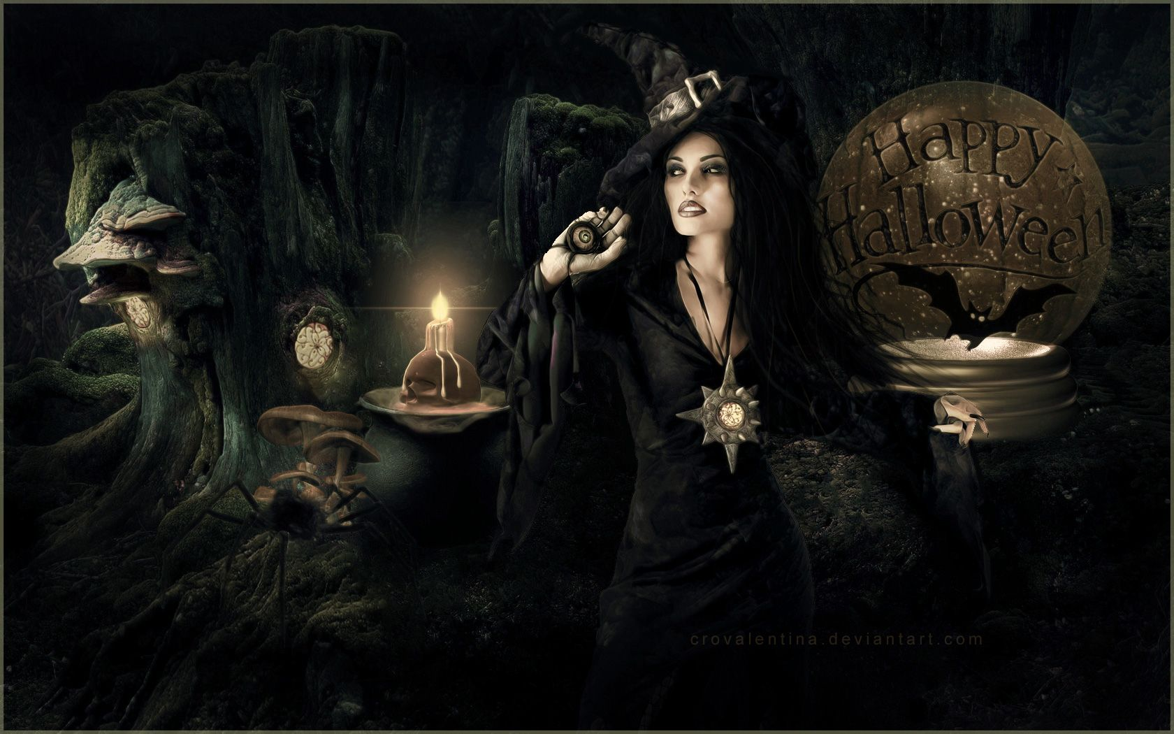 wallpaper witch scary pesquisa google - Halloween Witchcraft