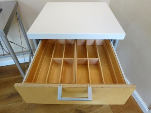 Bulthaup Edelstahlelemente, Küchenblock, Modellreihe System 20 in ...