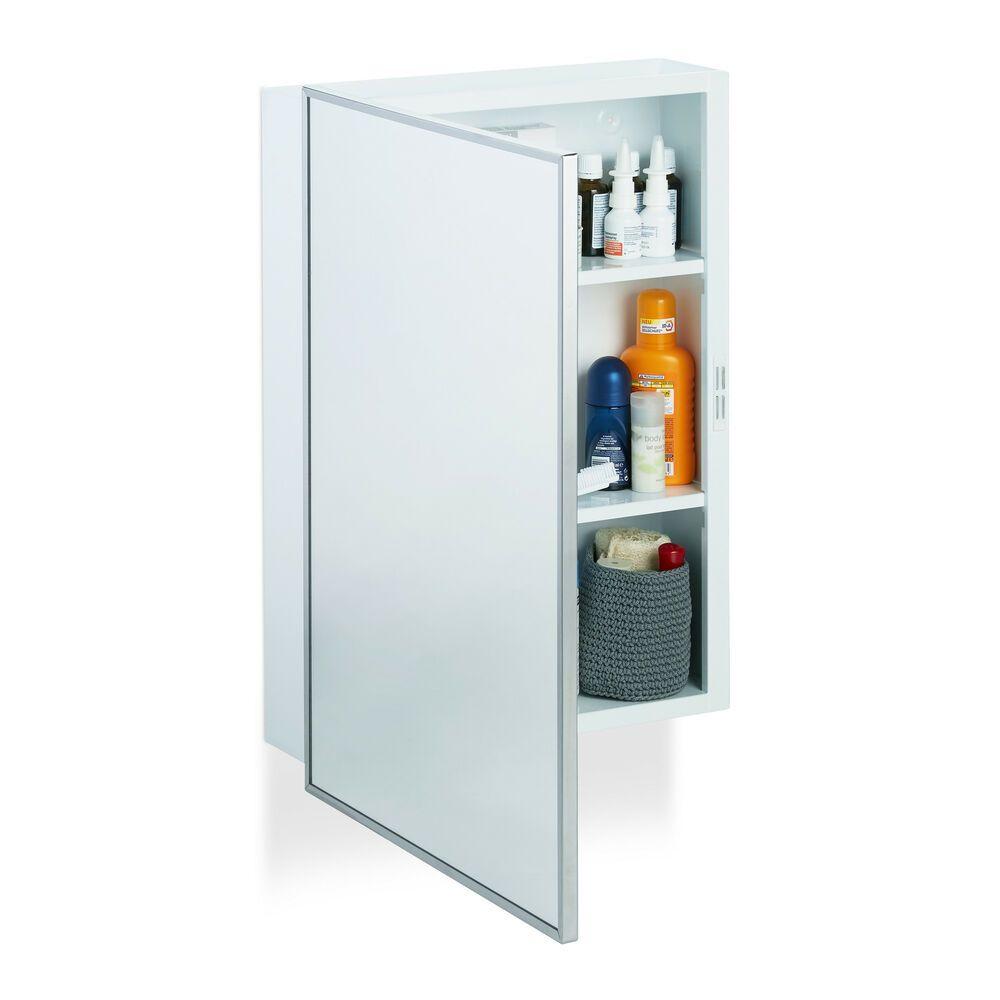 Spiegelschrank Bad Wandschrank Hangeschrank Badhangeschrank 3 Ablagen Stahl Flur Ebay In 2021 Spiegelschrank Bad Spiegelschrank Wandschrank