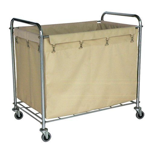 Offex Industrial Laundry Hamper Cart By Offex 172 99 Easily Move Wet Or Dry Bulk Loads Recommended For Laundry Cart Laundry Hamper Rolling Laundry Basket