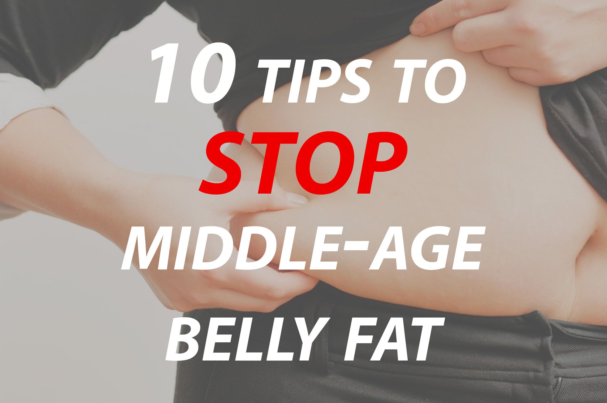 how to lose spare tire and love handles fast