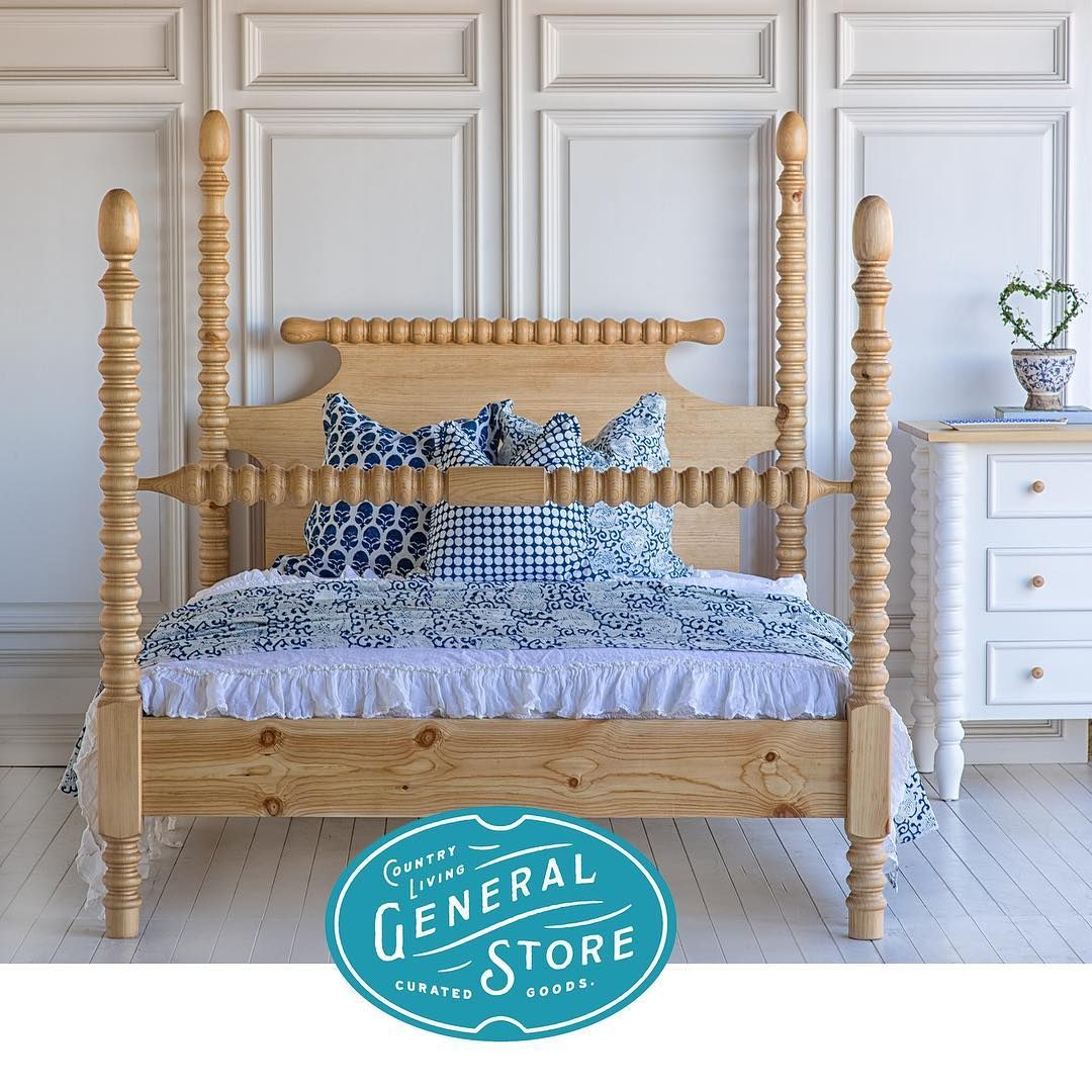 The Beautiful Bed Company On Instagram Thanks To Countrylivingmag For Choosing Our Gwendoline Spindle Spanish Bedroom Furniture Beautiful Bedding Furniture