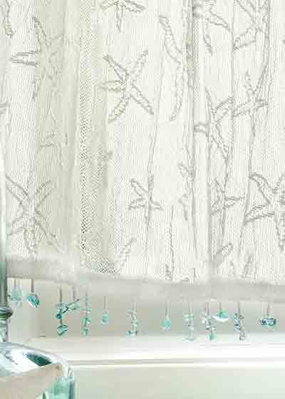 Heritage Star Fish With Images Beach Cottages Curtains Beach
