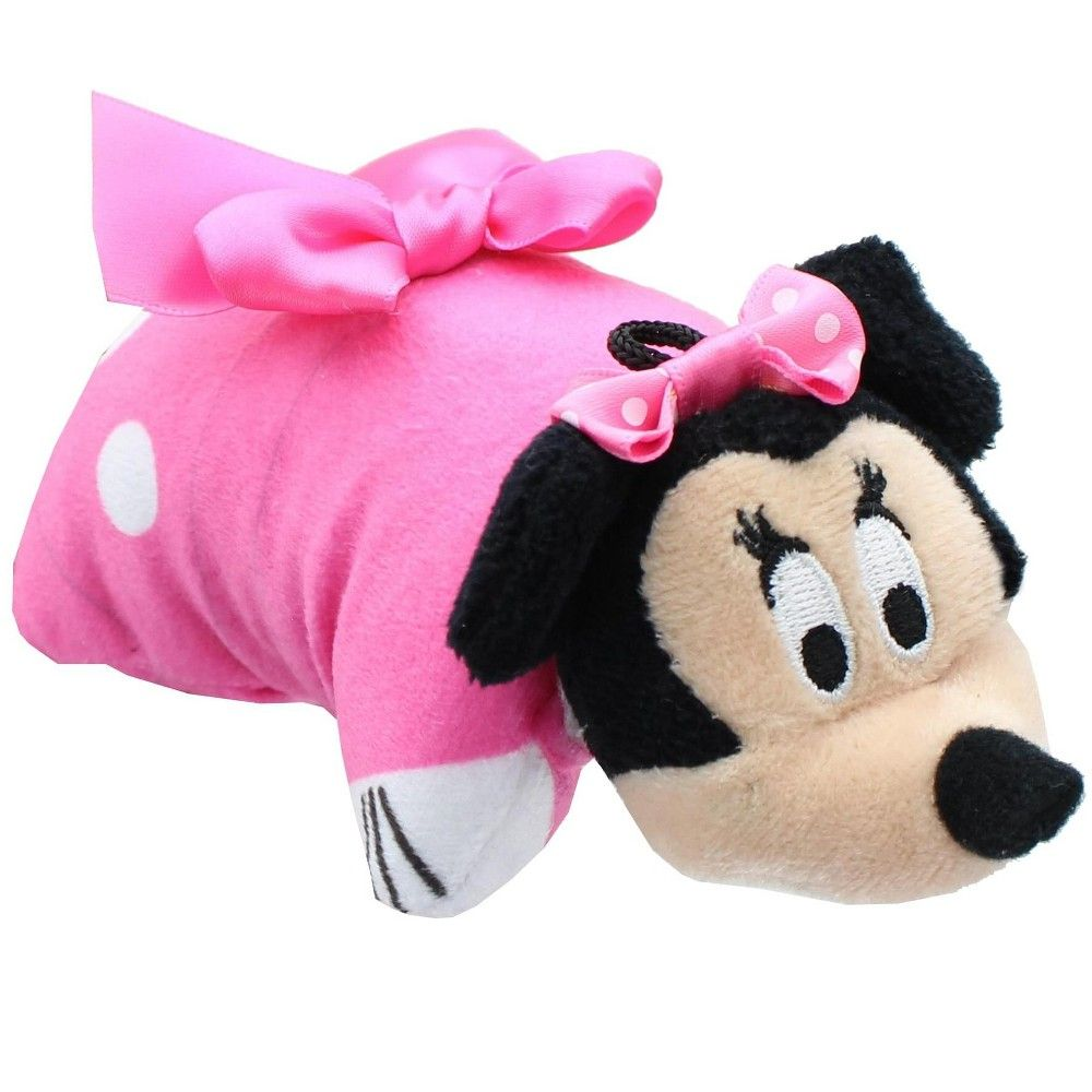 Cj Products Disney Pink Minnie Mouse 5 Inch Mini Pillow Pet Plush