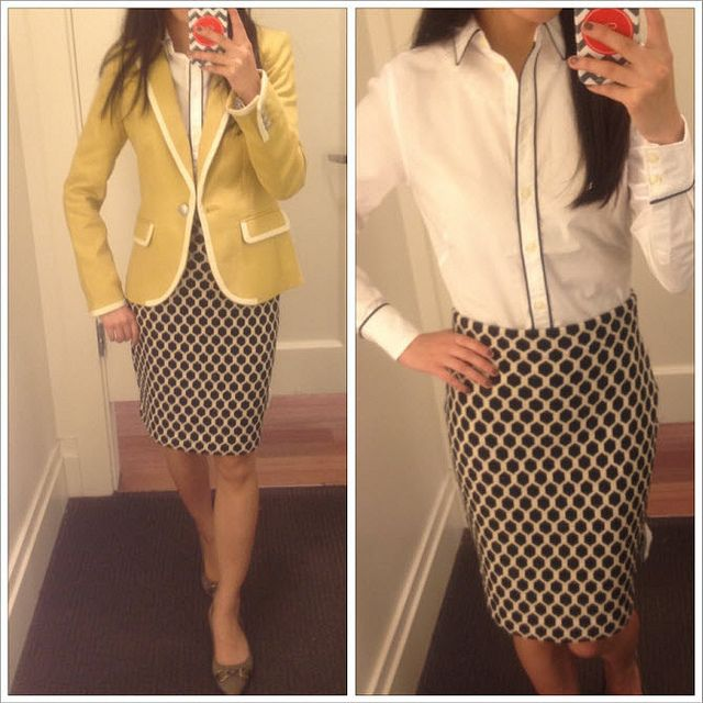 Extra Petite   Petite Fashion, Style Tips and DIY.  Love this jacket from Banana Republic. After saw this post, went and got myself a mustard yellow jacket in petite.