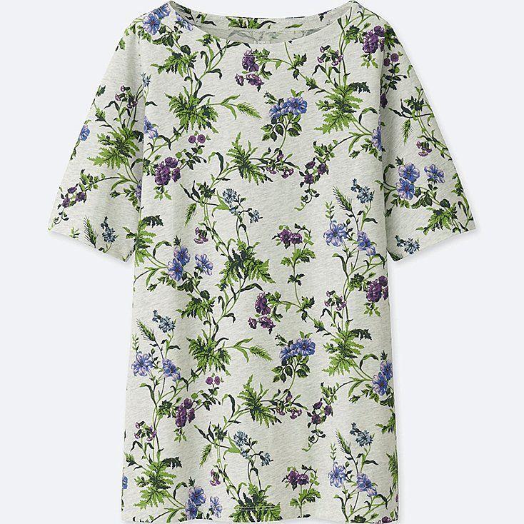 5817153abc Women studio sanderson for uniqlo graphic t-shirt