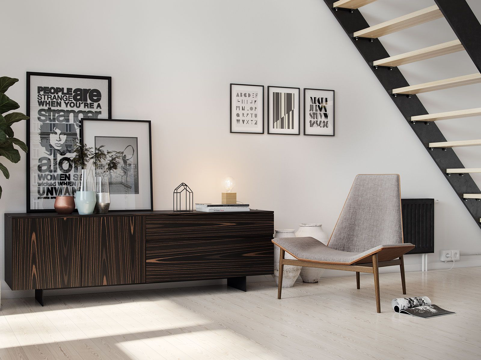 Best The Geometric Angles Of The Kent Lounge Chair Give It The 400 x 300