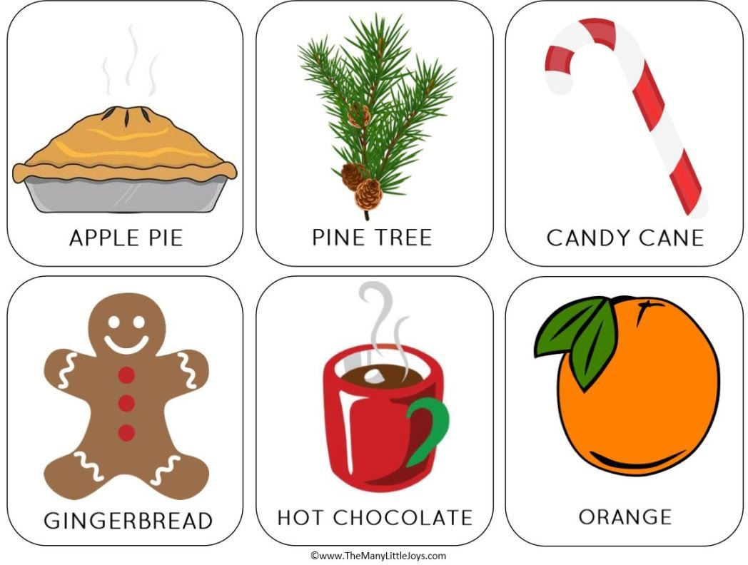 The Sweet Smell Of Christmas A Preschool Activity