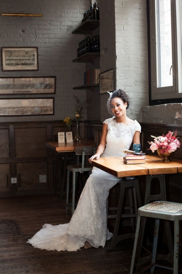 The White Gown Nyc Faces Tinsel Twine Brooklyn Winery