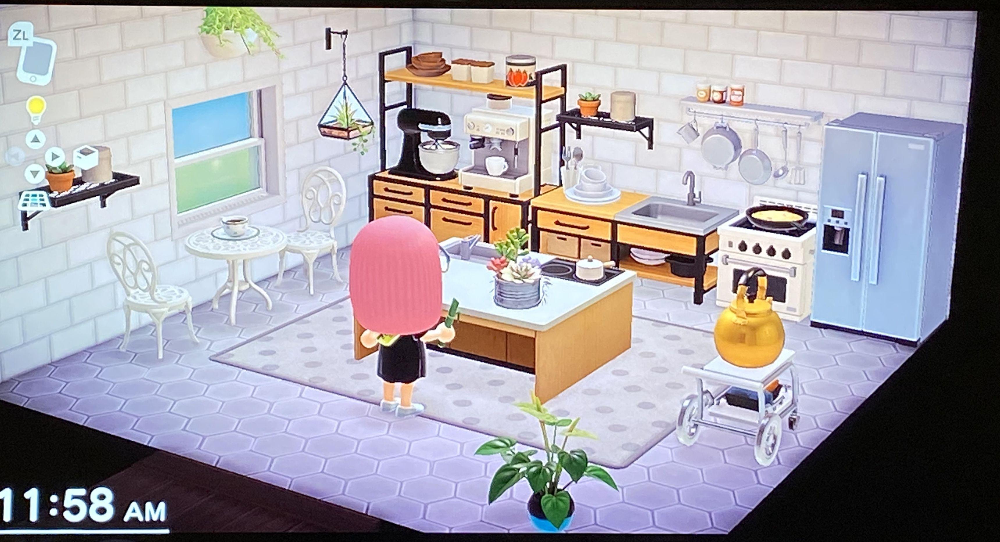 Kitchen Island New Horizons - Tentang Kitchen on Kitchen Counter Animal Crossing  id=21195