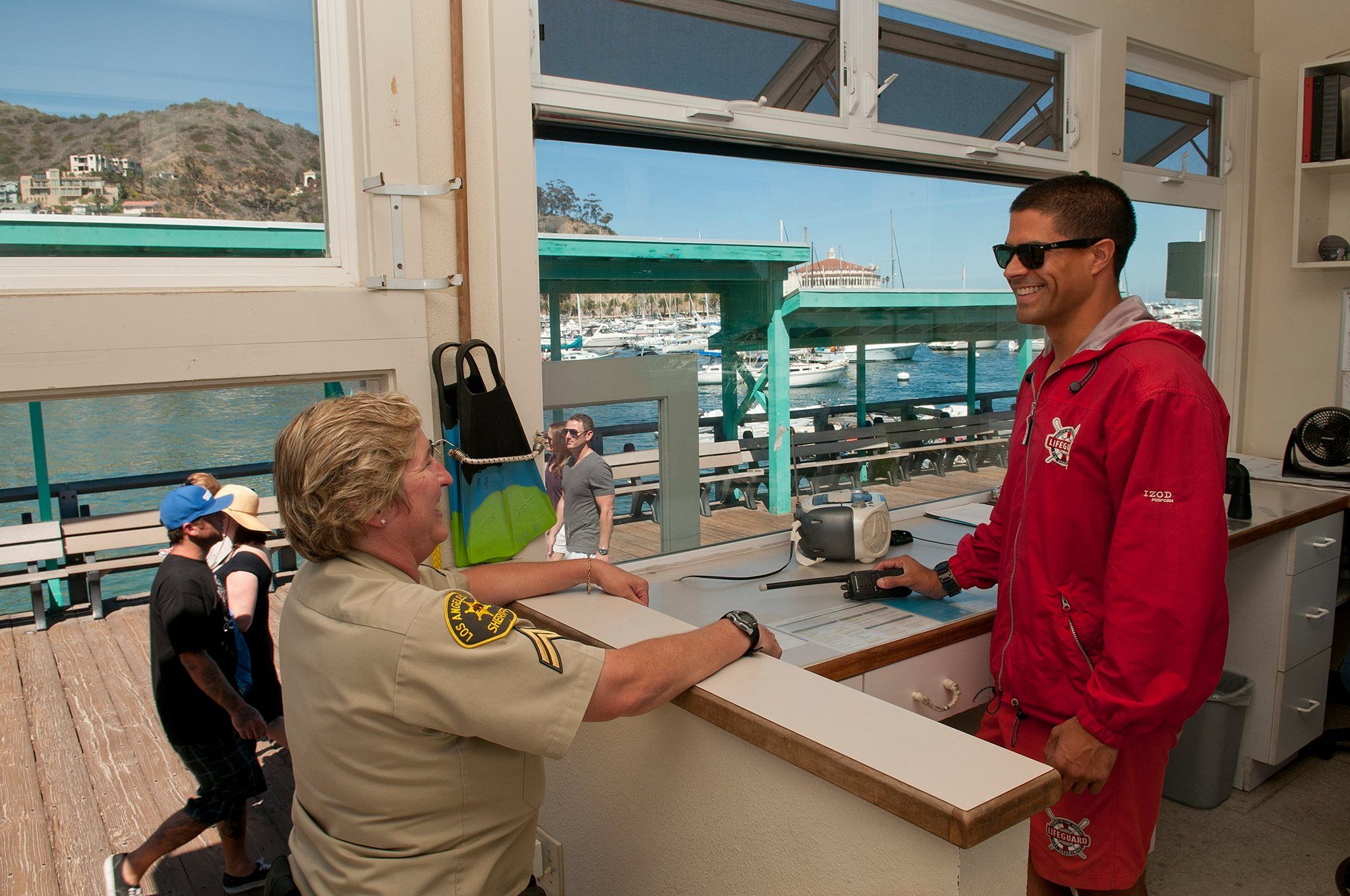 Lasd Working With The Lifeguards Of Catalina Island Catalina