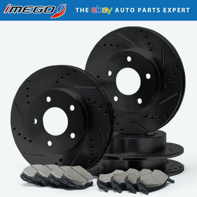 2008 for Ford Taurus Disc Brake Rotors and Ceramic Pads Front