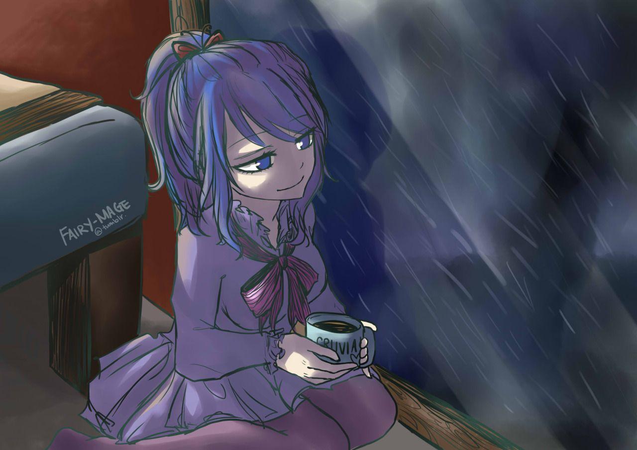 fairy-mage:  Juvia learns to love the rain.