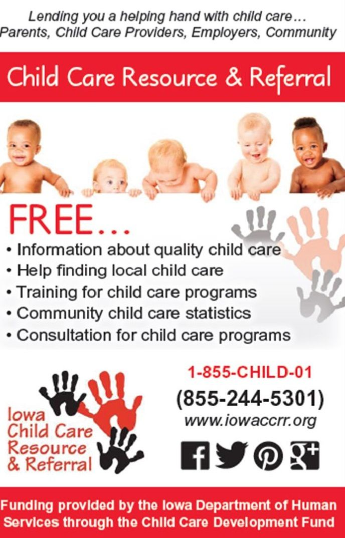 Free Help For Families Child Care Programs And Communities