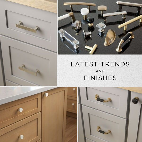 Merveilleux Latest Trends And Finishes In Cabinet Hardware