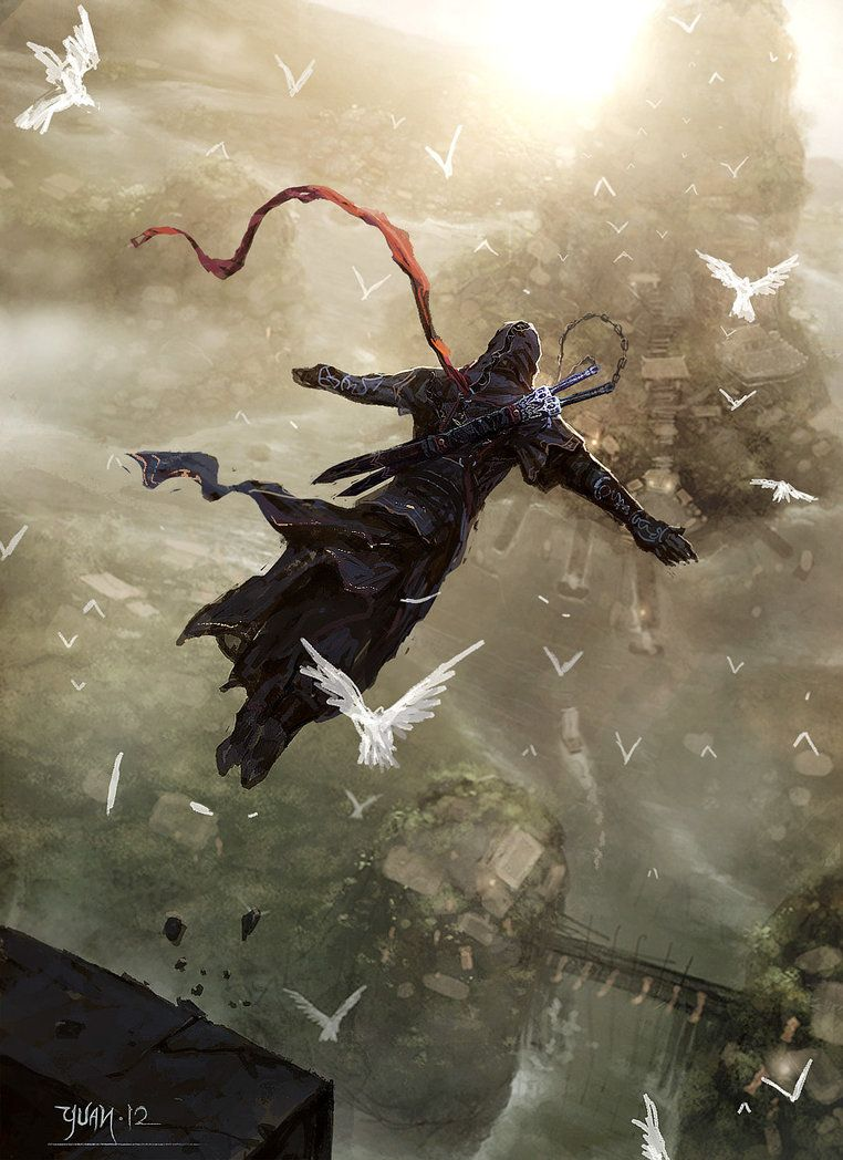 Assassin Leap Of Faith Assassins Creed Artwork Assassins