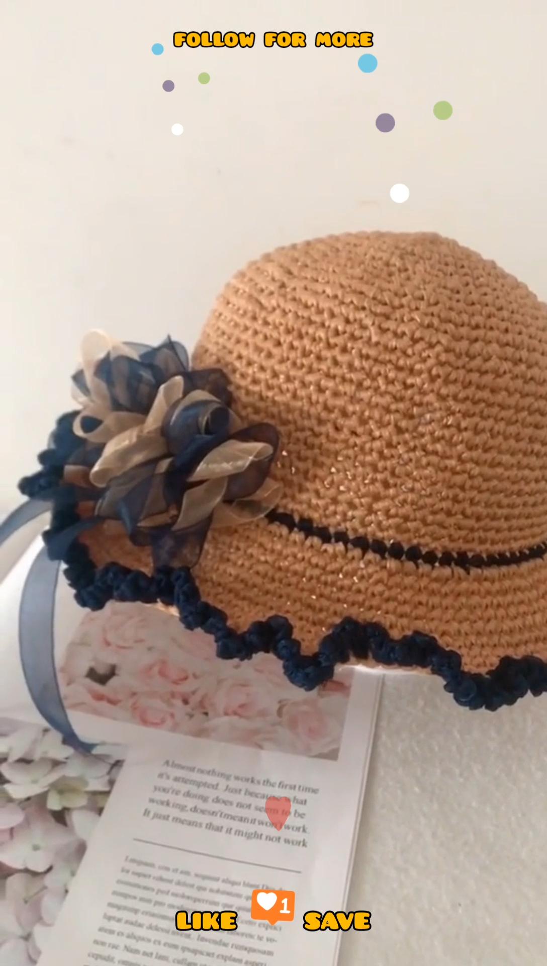 Crochet Summer Hat   Crochet Patterns for Beginners   Easy Crochet ...