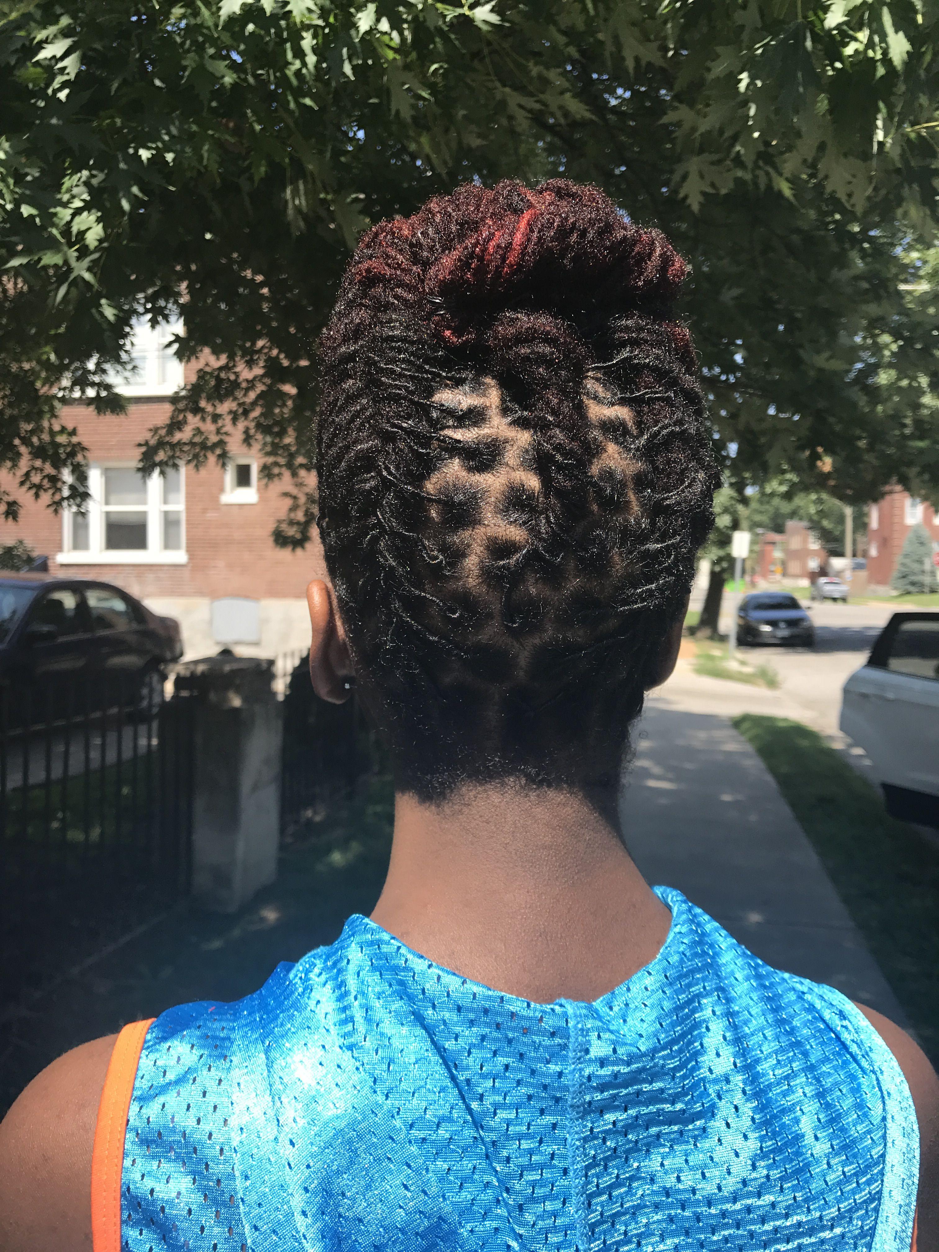 Teen updo on locs natural hair inspiration pinterest locs