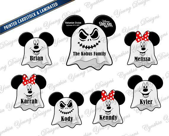 Halloween Disney High Seas Black And White 2020 Halloween Logo Stateroom Door Mickey Ears Halloween on the High Seas Cruise