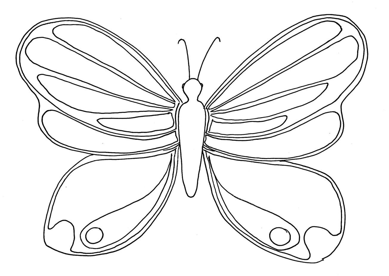 25 Amazing Photo Of Butterflies Coloring Pages Butterfly